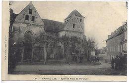 SALVIAC - Eglise Et Place De L'Oratoire - Salviac