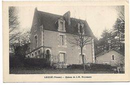 LIGUGE - Maison De JK Huysmans - France