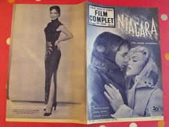 "Revue ""film Complet"" N° 402 De 1953. Niagara. Marylin Monroe Joseph Cotten Richard Allen + Judy Dan - Cinéma/Télévision"