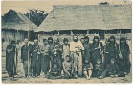 Cauchero En El Rioo Ucayali ( Peru ) White Rubber Worker With Nude Indians , Caoutchouc , Hevea - Pérou