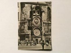 PRAGA - THE OLD TOWN CLOCK   VIAGGIATA FG - Repubblica Ceca