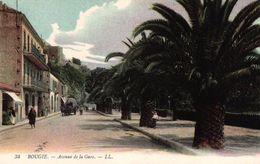 ALGERIE - BOUGIE AVENUE DE LA GARE - Bejaia (Bougie)