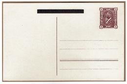 SOSNOWIEC Poste Locale Entier Postal Fischer CP2 Préoblitéré - ....-1919 Gouvernement Provisoire