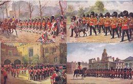 TUCK / TRES JOLI LOT DE 10 CARTES  > UK LONDON HARRY PAYNE - Military In London - Militaires / TTBE - Tuck, Raphael