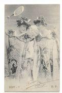 Hermon - Artiste De La Belle époque - Carte Postale Ancienne -  Femme Lady Frau - Artistes
