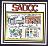 Tanzania, Scott #257a, Mint Never Hinged, Southern Africa Development Coordination Conference, Issued 1985 - Tansania (1964-...)
