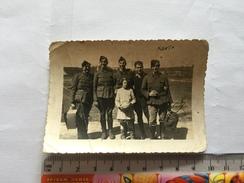 17W - Groupe Soldats Belges Derenne Chatelineau Julémôt Dison .... - Guerre, Militaire