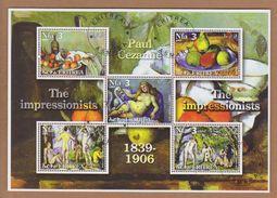 AC - ERITREA 2002 THE IMPRESSIONISTS PAUL CEZANNE 1839 - 1906 MNH - Impressionisme