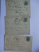 ITALY - 3 X Covers From Tivoli To England - Storia Postale