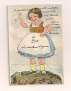 AK Linz A. D. - Werbekarte, Wenn Man Die Schürze Hochhebt, Dann Sieht Man 10 Minifotos Von Linz - Nicht Gelaufen - Linz