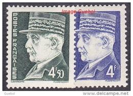 France Maréchal Pétain N°  522  Et  523 ** Au Type HOURRIEZ 2 Valeurs - Format 18 X 21 - 1941-42 Pétain