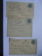 ITALY - 3 X Covers From Tivoli To England - 1878-00 Humbert I.