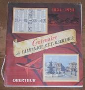 1854-1954 Centenaire De L'Almanach P.T.T. Oberthur - Calendriers