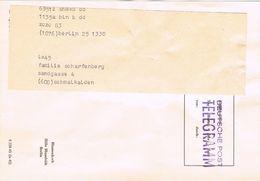 25097. Carta TELEGRAMM, Berlin 1983 (Alemania), Pictoric - [7] République Fédérale