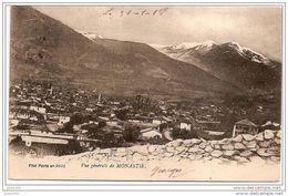 MONASTIR ..-- SERBIE ..-- MILITARIA ..-- Vue Générale . 1918 . Texte Militaire Vers France . - Serbie