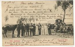 366 Lubango Cazamento Boer Boer Wedding Edit Eduardo Osorio Loanda Vers Clarinval Gendarmerie Bruxelles - Angola