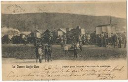 Boer War Depart Pour Colenso D' Un Train De Munitions Edit Nels  Used From Bienne 1900 To Saignelegier - Afrique Du Sud