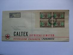 SOUTHERN RHODESIA  - 1950 FDC - Registered Salisbury - Diamond Jubilee - Southern Rhodesia (...-1964)