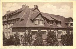 35/ CPA - Saint Méen Le Grand - Ecole Et Pensionnat Notre Dame - Altri Comuni