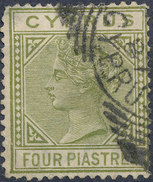 Stamp Used  Lot#72 - Chypre (...-1960)