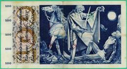 100 Francs - Suisse - 28 Mers 1963 - N° 39Y91989 - TB+ - - Suiza