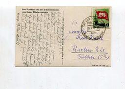 DDR / 1953 / Mi. 346 EF A. AK Bad Schandau, O Bad Schandau (17065) - DDR