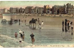 CPA N°4327 - LOT DE 8 CARTES DE DUNKERQUE - MALO LES BAINS - LA PLAGE - Dunkerque