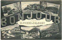 73/ CPA - Bonjour De St Pierre D'Albigny - Saint Pierre D'Albigny