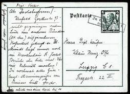 A4749) DR Ganzsache-Karte Mi.P256 Mit Nachentwertung - Briefe U. Dokumente