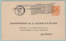 OM4 Entier Repiqué: Inspection Des RUCHERS D' Abeilles + Reines. Ministère Agriculture + Apiculture Quebec 9.6.31 - Api
