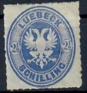 Lubeck - Lübeck / Y&T No 11* Mi Nr 11A* / 160 Euros - Luebeck