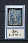 FRANCE- Y&T N°22- Bleu - PC Des GC 1196 - COUSANCE DU JURA (38) - Marcophilie (Timbres Détachés)