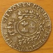 LOUIS XVI Vingtième D'écu Aux Branches D'olivier Au Nom De Louis XV 1779 Paris - 987-1789 Monnaies Royales