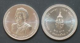 Thailand Coin 20 Baht 2010 84th Princess Bejaratana UNC - Thailand