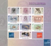 Georgia Del Sur Nº 481 Al 490 - Georgias Del Sur (Islas)