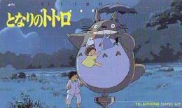Télécarte Japon * 110-43906 * MANGA MIYAZAKI * MY NEIGHBOR TOTORO * PHONECARD JAPAN (15.846) MOVIE * ANIME COMICS * TK - Stripverhalen