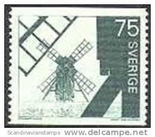 ZWEDEN 1971 Windmolens PF-MNH - Suède