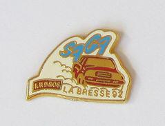 1 Pin's RALLYE - SAGA ANDROS LA BRESSE 92 - Rallye