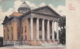 Jewish Synagogue In Atlanta Georgia, Architecture, C1900s Vintage Postcard - Jewish