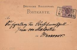 5 Pfenninge 1879 - Entier Postal - 3 Scan - Allemagne