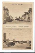 50/ MANCHE...GATHEMO. Le Centre Du Bourg Avant Et Après Le 10 Août 1944. ...BOMBARDEMENTS - Autres Communes