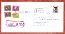 Drucksache, EF, Bonn Nach Innsbruck, Nachgebuehrstempel, Portomarken, 1991 (40148) - 1945-.... 2a Repubblica