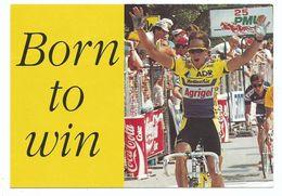 CPM GREG LEMOND Vainqueur Du Tour De France 1989 - Dédicace A Tous Mes Amis D' Agrigel - Wielrennen