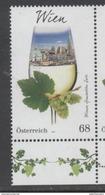 AUSTRIA, 2017, MNH, WINE REGIONS, WINE, GRAPES, VIENNA, 1v - Vini E Alcolici
