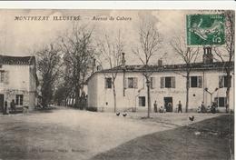 MONTPEZAT  Avenue De Cahors - Montpezat De Quercy