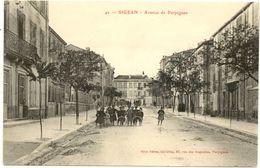 11/ CPA A - Sigean - Avenue De Perpignan - Sigean