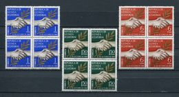 EQUATORIAL GUINEA 1968 Mi # 1 - 3 INDEPENDENCE BLOCK Of 4 MNH - Equatorial Guinea