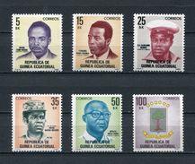 EQUATORIAL GUINEA 1980 Mi # 1613 - 1618  National Heroes  MNH - Equatorial Guinea