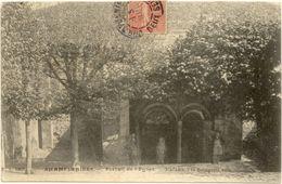 79/ CPA - Champdeniers - Portail De L'Eglise - Champdeniers Saint Denis