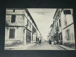 PELLEGRUE / ARDT LANGON 1910 / LA GRAND RUE  / CIRC  NON / EDIT - France